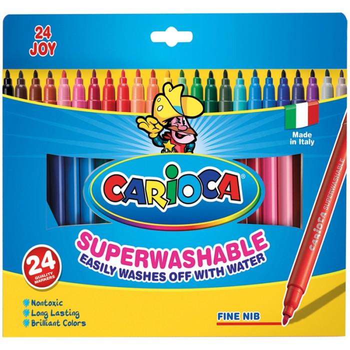 Фломастеры Carioca Joy 24 цвета фломастеры carioca joy 10 цветов в блистере