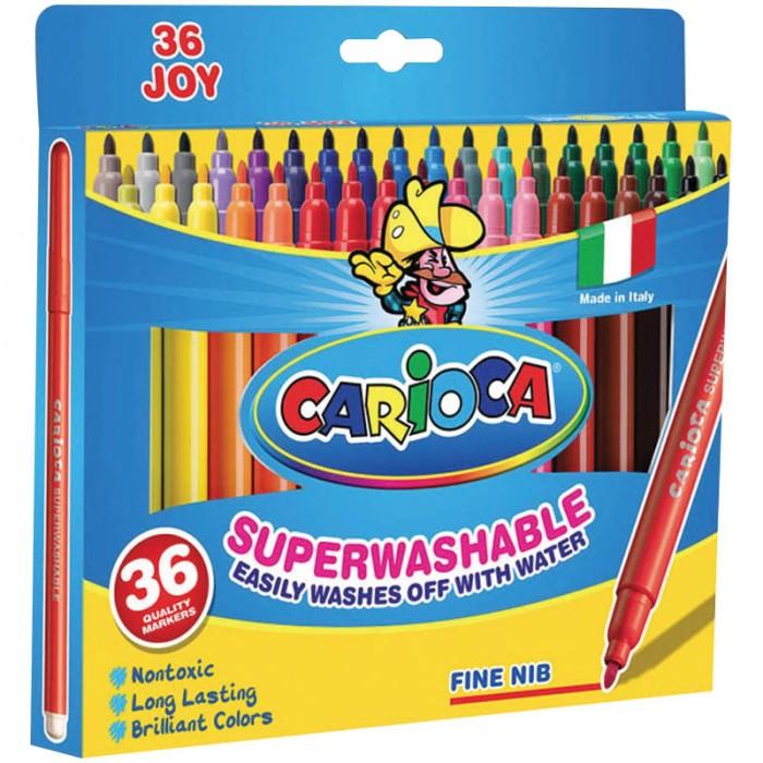 Фломастеры Carioca Joy 36 цветов циркуль mars basic 554 максимальный диаметр 36 см длина 146 мм 554т11