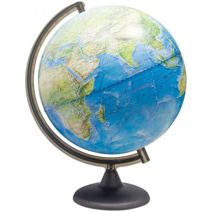 Развитие и школа , Глобусы Глобусный мир Глобус ландшафтный 32 см арт: 123602 -  Глобусы