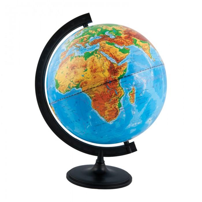 Развитие и школа , Глобусы Глобусный мир Глобус физический 32 см с подсветкой арт: 123638 -  Глобусы