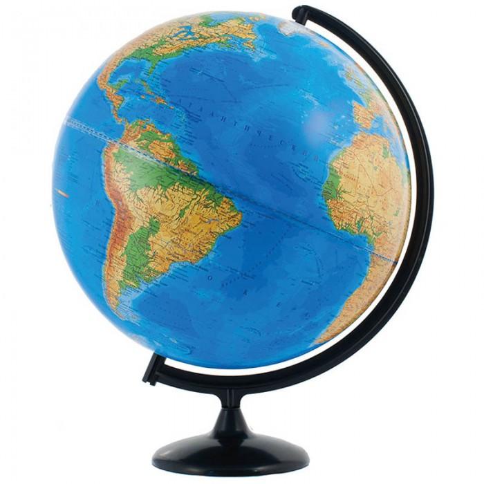 Развитие и школа , Глобусы Глобусный мир Глобус физический 42 см арт: 123641 -  Глобусы