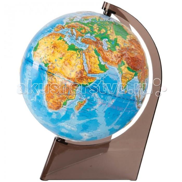Глобусы Глобусный мир Глобус физический рельефный 21 см