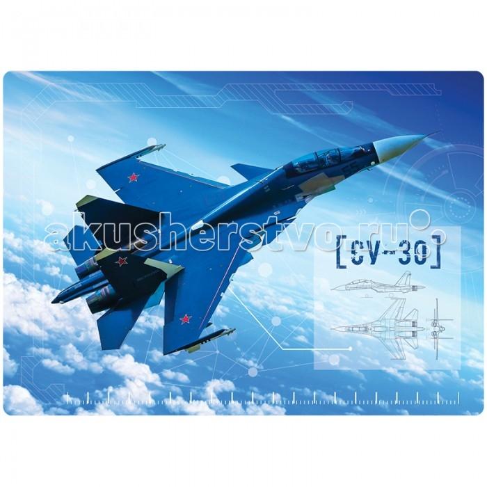 Канцелярия Спейс Настольное покрытие детское Военные самолеты 24х33,5 детское