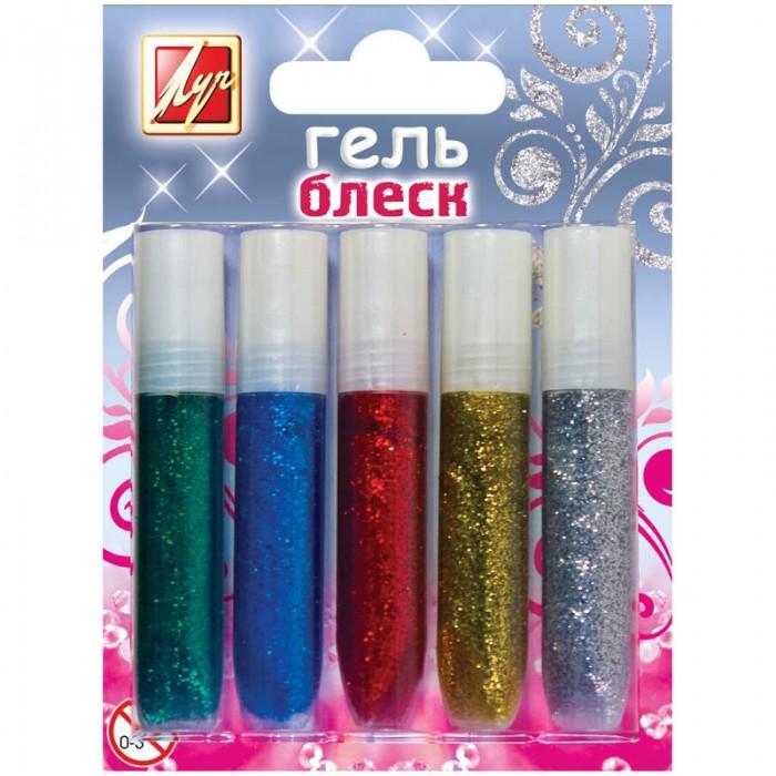 Краски Луч Гель с блестками Блеск 5 цветов гель клей с блестками kids series 5 цветов 190722