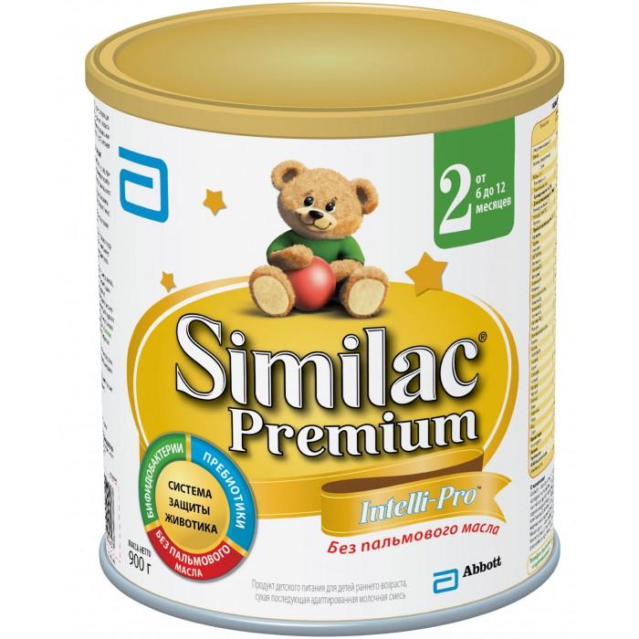 Детское питание , Молочные смеси Similac Молочная смесь 2 Premium 6-12 мес. 900 г арт: 12429 -  Молочные смеси
