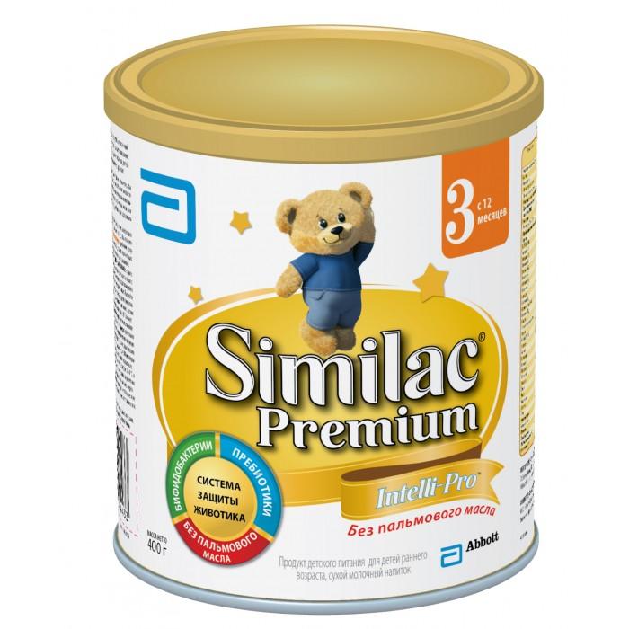 Молочные смеси Similac Молочная смесь 3 Premium с 12 мес. 400 г similac смесь педиашур малоежка similac со вкусом банана 200 мл