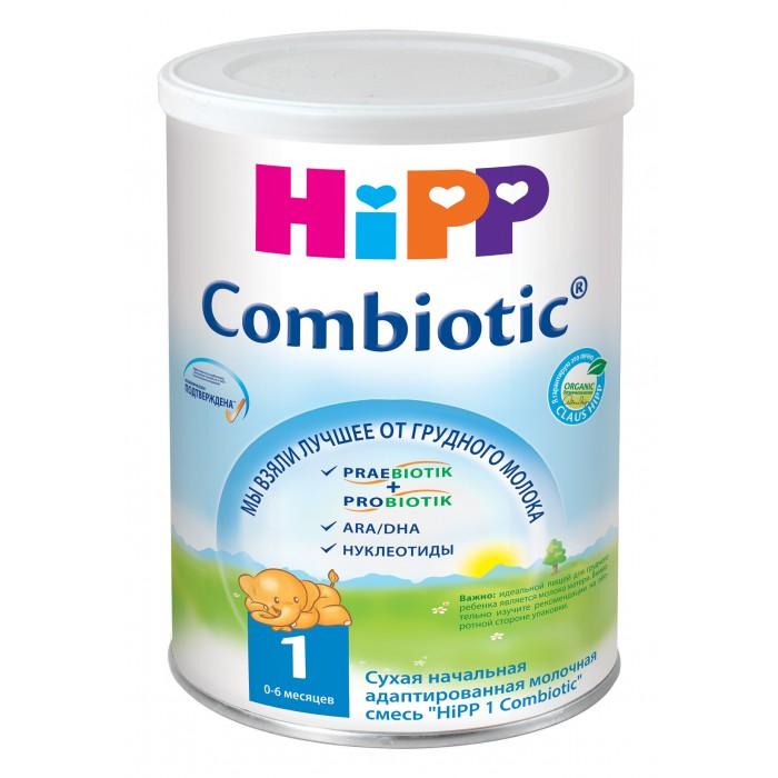 Молочные смеси Hipp Молочная смесь 1 Combiotiс с рождения 350 г молочная смесь hipp 2 combiotic с 6 мес 800 гр