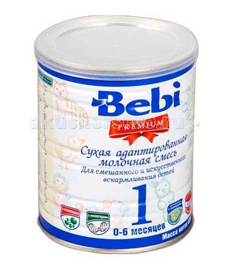 Молочные смеси Bebi Заменитель Premium 1 с рождения 400 г молочная смесь semper bifidus 1 с рождения 400 г