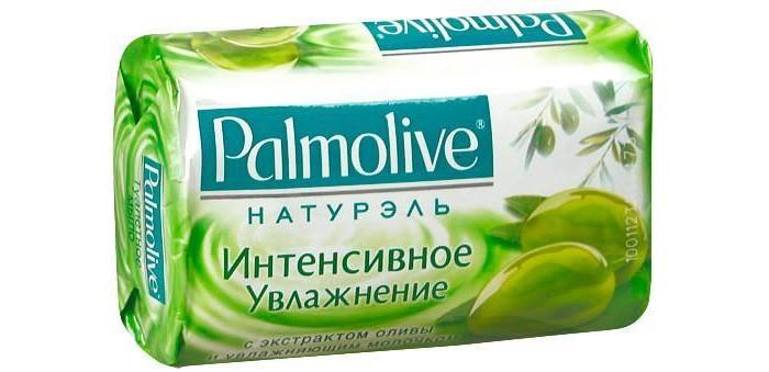 Косметика для мамы Palmolive Кусковое мыло Интенсивное увлажнение (с экстрактом оливы и увлажняющим молочком) 90 г