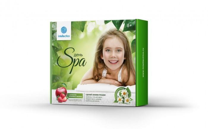 Наборы для творчества Intellectico Набор твоя SPA студия большой набор для изготовления мыла фруктовый набор