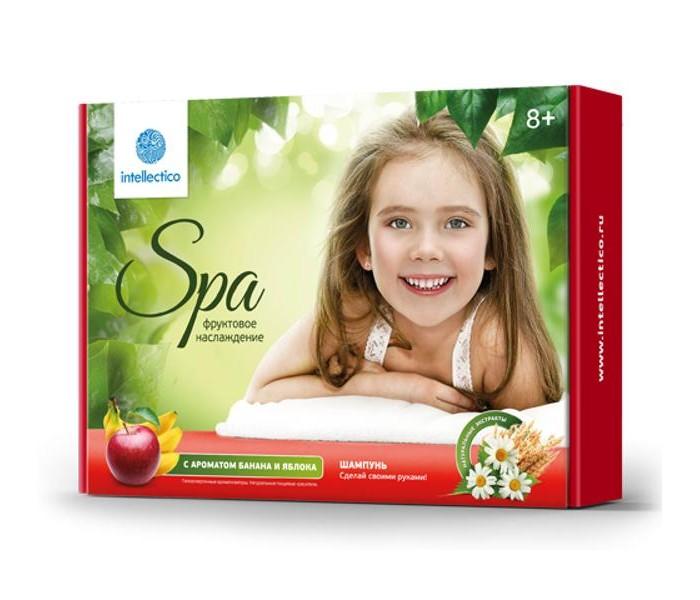 Наборы для творчества Intellectico Набор твоя SPA студия шампунь фруктовое наслаждение набор для создания духов intellectico апельсин mini