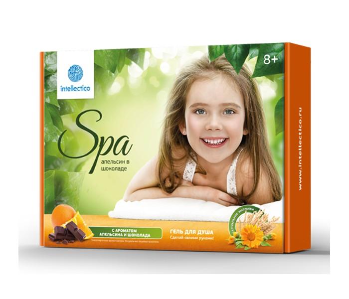 Наборы для творчества Intellectico Набор твоя SPA студия гель для душа Апельсин в шоколаде набор крем kora набор spa лифтинг уход набор
