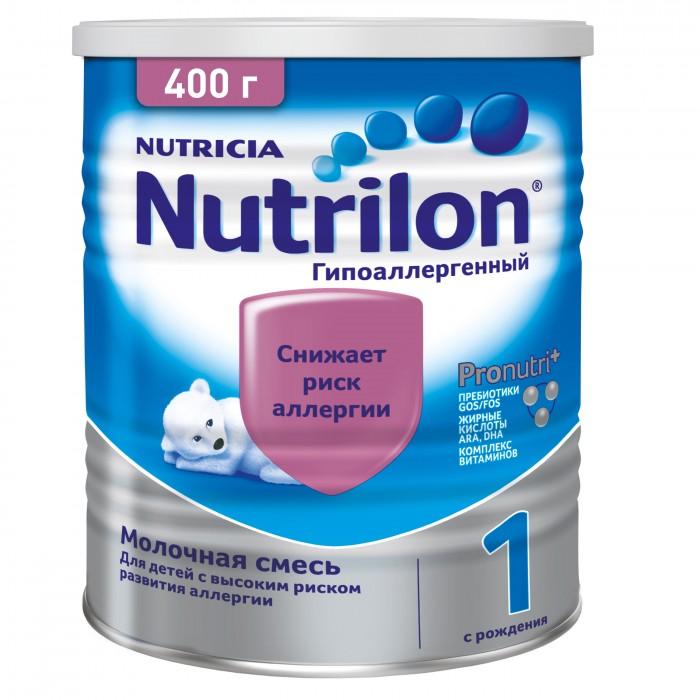 Молочные смеси Nutrilon Заменитель Гипоаллергенный 1 с рождения 400 г молочные смеси humana заменитель expert 1 с рождения 350 г