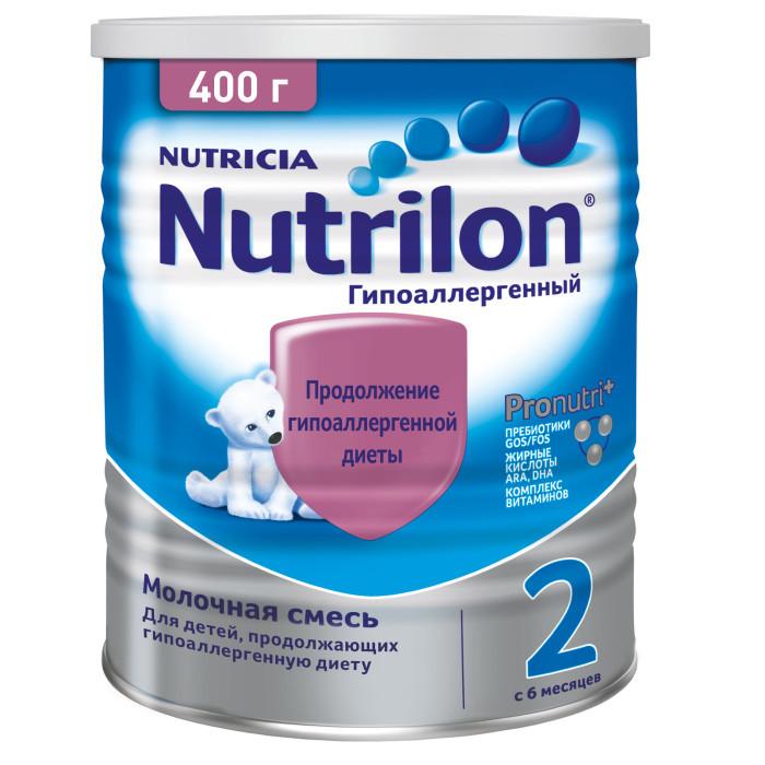 Nutrilon Заменитель Гипоаллергенный 2 с 6 месяцев 400 г