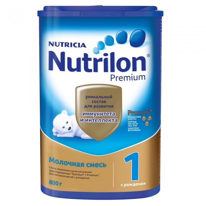 Молочные смеси Nutrilon Заменитель 1 пребиотики с рождения 800 г картон молочная смесь nutrilon premium 1 с рождения 800 гр