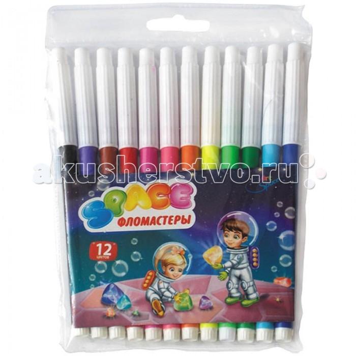 Фломастеры Спейс Фломастеры Космонавты 12 цветов мицубиси спейс раннер купить новый