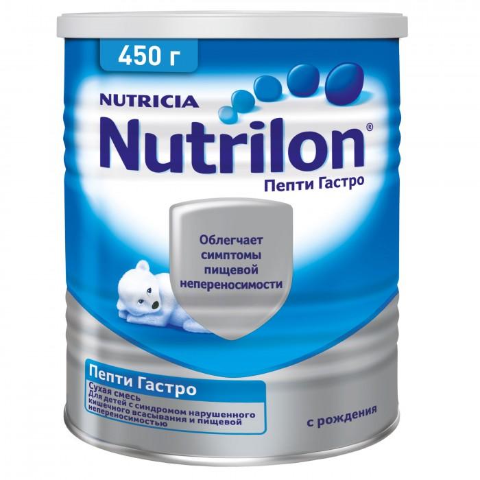 Молочные смеси Nutrilon Заменитель Пепти Гастро с рождения 450 г восстановительный комплекс nutrend regener яблоко 450 г