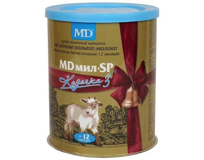 Молочные смеси MD мил Заменитель Козочка 3 с 12 мес. 400 г молочная смесь md мил sp козочка 1 с рождения 400 г