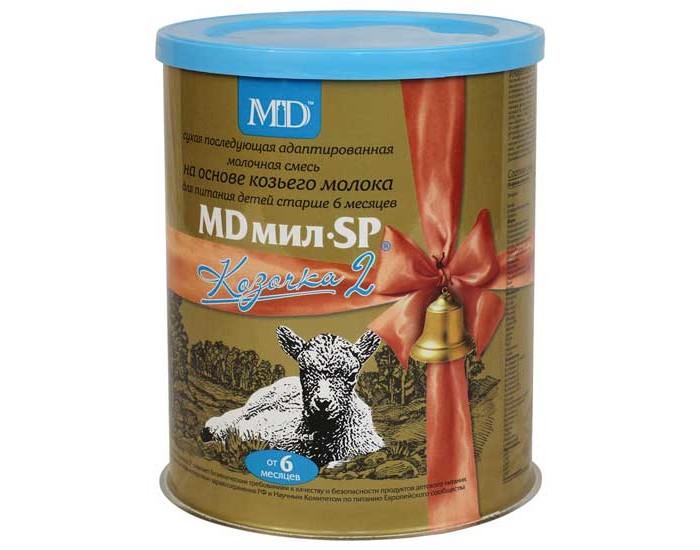 Детское питание , Молочные смеси MD мил Заменитель Козочка 2 с 6 мес. 400 г арт: 12535 -  Молочные смеси
