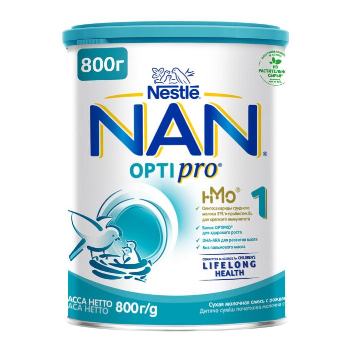 Молочные смеси NAN Заменитель Премиум 1 с рождения 800 г молочные смеси nan заменитель гипоаллергенный 1 с рождения 400 г