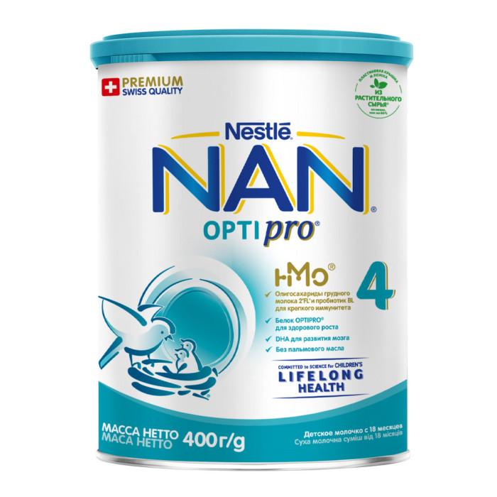 Молочные смеси NAN Детское молочко Премиум 4 с 18 мес 400 г квас традиционный о 2л