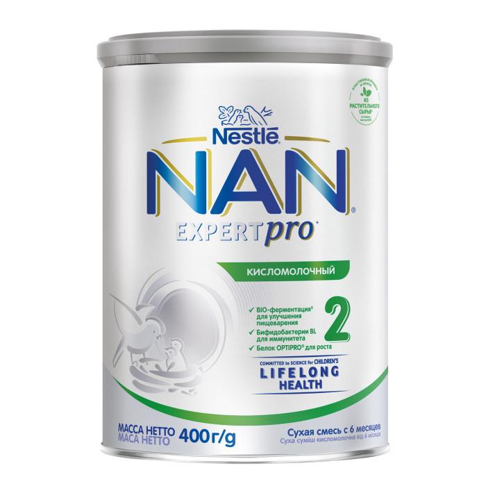 Молочные смеси NAN Заменитель Кисломолочный 2 с 6 месяцев 400 г молочные смеси nan заменитель кисломолочный 2 с 6 месяцев 400 г