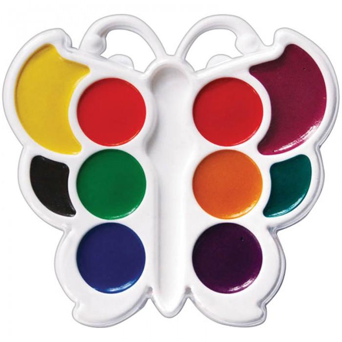 Краски Луч Акварель Бабочка 10 цветов без кисти фигурная краски луч акварель классика 16 цветов без кисти