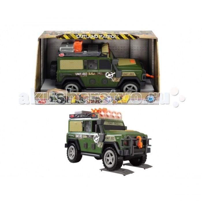 Машины Dickie Военный внедорожник 33 см s s toys 80083ear военный внедорожник