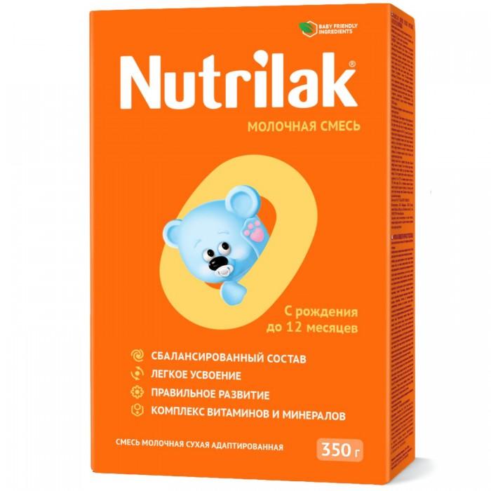 Молочные смеси Nutrilak Заменитель 0-12 с 0 мес. 350 г рыба