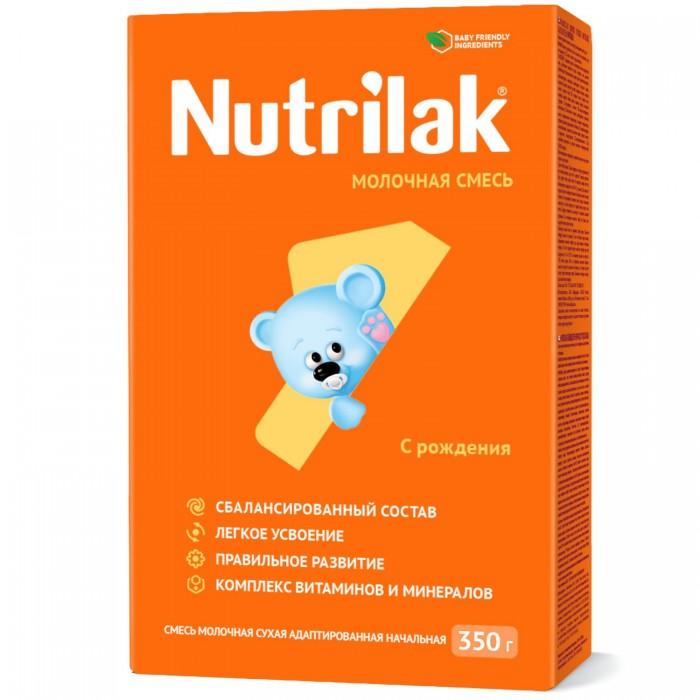 Молочные смеси Nutrilak Заменитель 1 с 0 мес. 350 г молочная смесь nutrilak premium соя с рождения 350 г