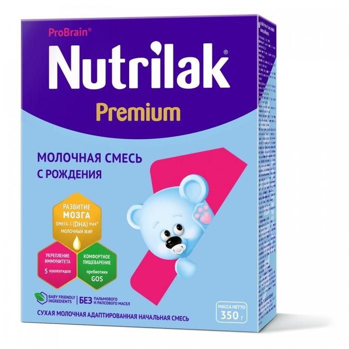 Молочные смеси Nutrilak Заменитель Premium 1 с 0 мес. 350 г молочная смесь nutrilak premium соя с рождения 350 г