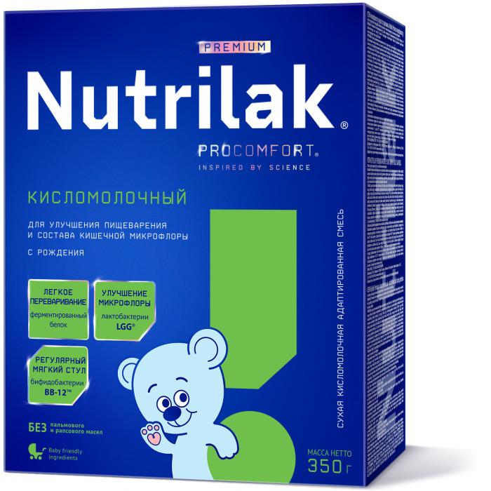 Молочные смеси Nutrilak Заменитель Кисломолочный с 0 мес. 350 г nutrilak premium молочная смесь кисломолочный с ро