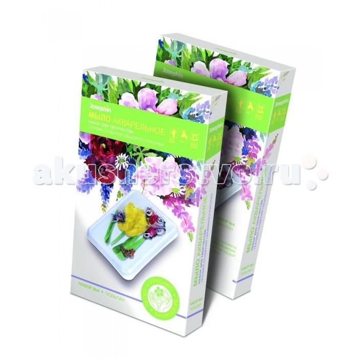 Наборы для творчества Фантазер Набор для мыловарения Мыло акварельное Тюльпан наборы для творчества molly мыло своими руками валентинки