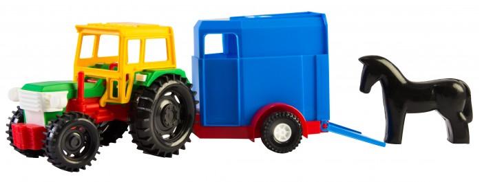 Машины Tigres Трактор с прицепом 39215 машинки globo набор автопоезд с прицепом и животным