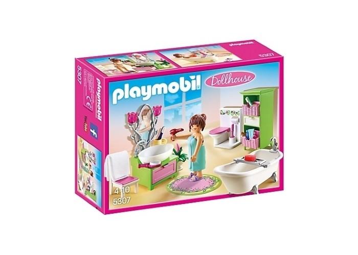 Конструкторы Playmobil Кукольный дом: Романтическая ванная комната playmobil игровой набор кукольный дом детская комната для 2 детей