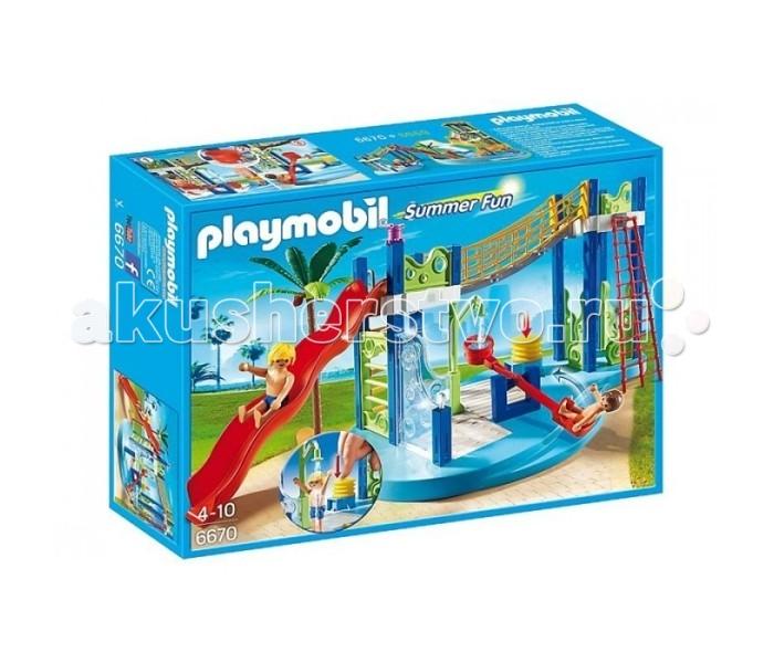 Конструкторы Playmobil Аквапарк: Игровая площадка игровая площадка микки