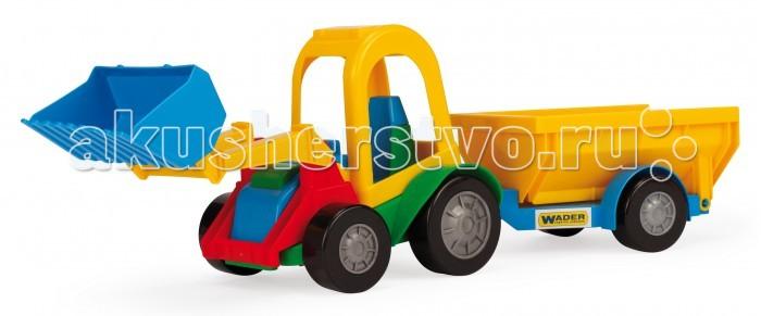 цена на Машины Tigres Трактор багги с ковшом и прицепом