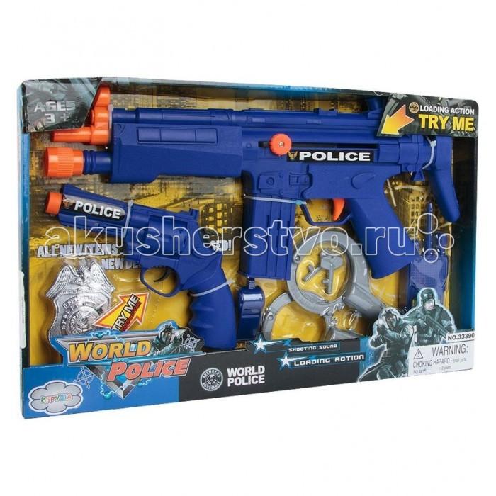 Игрушечное оружие Игруша Игровой набор Полиция i-kw17793 ролевые игры игруша игровой набор доктор i 1151275