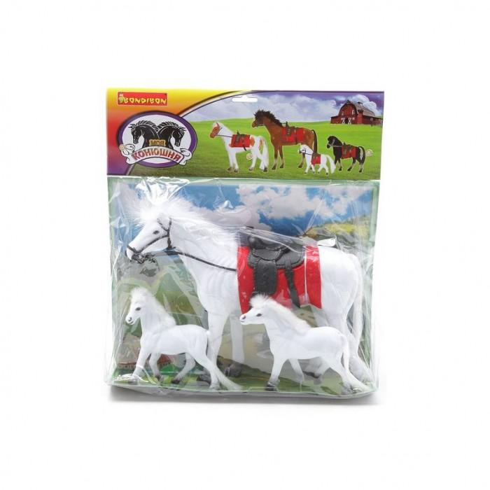 Bondibon Набор игровых лошадок Моя конюшня