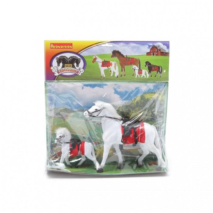 Игровые фигурки Bondibon Игровой набор Лошадь с жеребенком playmobil игровой набор королева лунного света с жеребенком пегаса