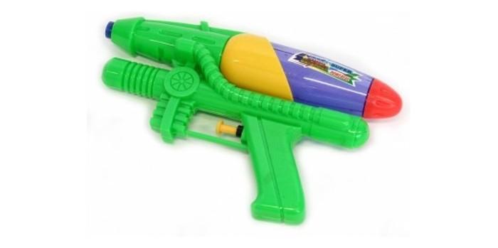 Подробнее о Bondibon Водный пистолет Водная Битва 21 см пистолет картушный