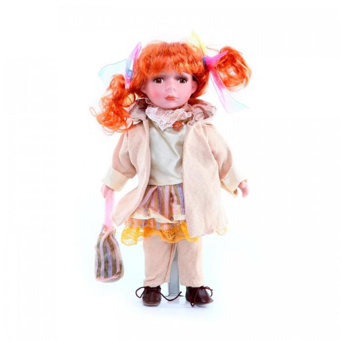 Куклы и одежда для кукол Bondibon Кукла керамическая 30 см Country stile кукла весна 35 см