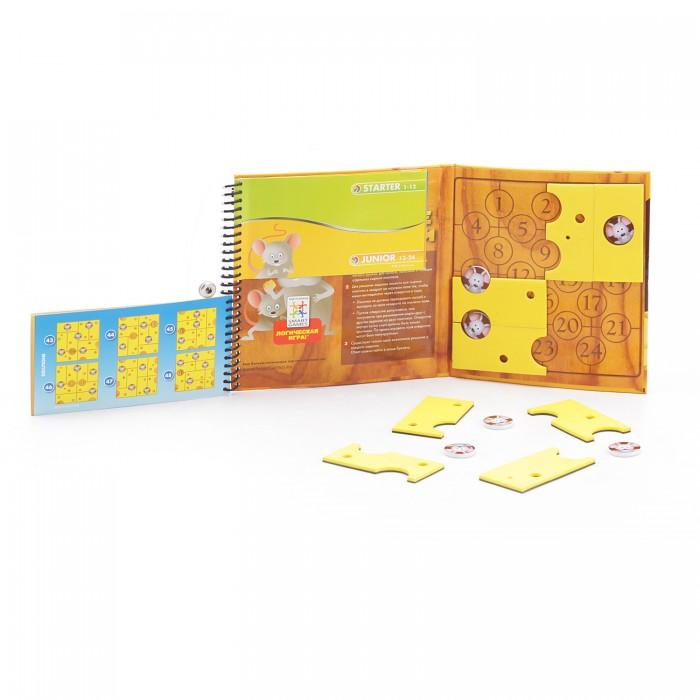 Настольные игры Bondibon Магнитная игра для путешествий Сырные Лазейки настольная игра игра головоломка сырные мышки say cheese