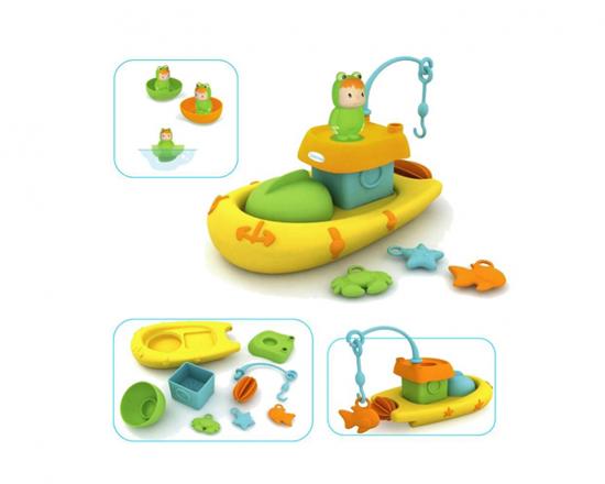 Игрушки для ванны Smoby Cotoons Набор рыбалка игрушки для ванны tolo toys набор ведерок квадратные