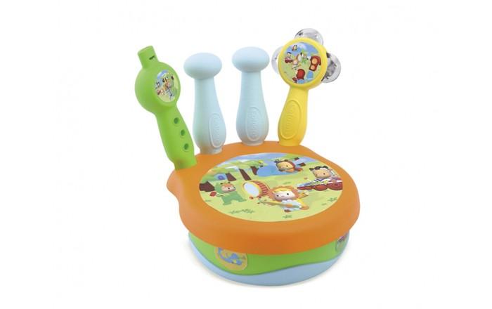 Музыкальные игрушки Smoby Cotoons Набор музыкальных инструментов музыкальные игрушки стеллар музыкальные игрушки набор 1