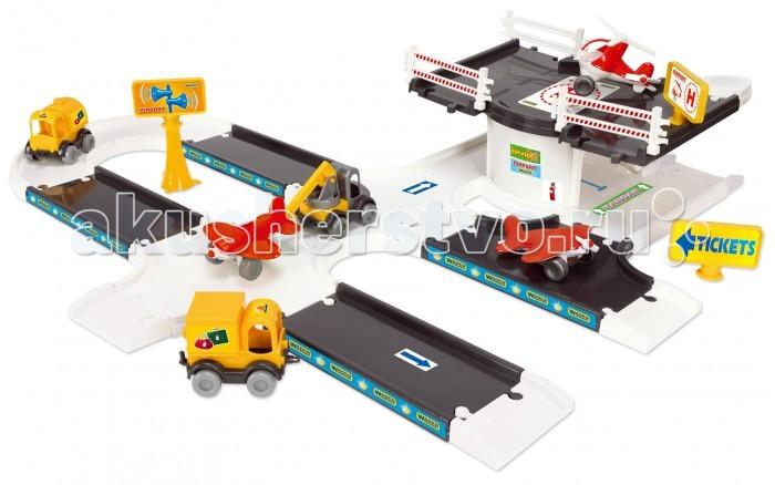 Машины Wader Kid Cars 3D-аэропорт игровой набор dave toy аэропорт с 1 машинкой