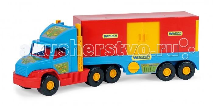 Машины Wader Super Truck фургон фургон wader super truck 36510 79 см