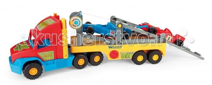 Машины Wader Super Truck с авто Формула