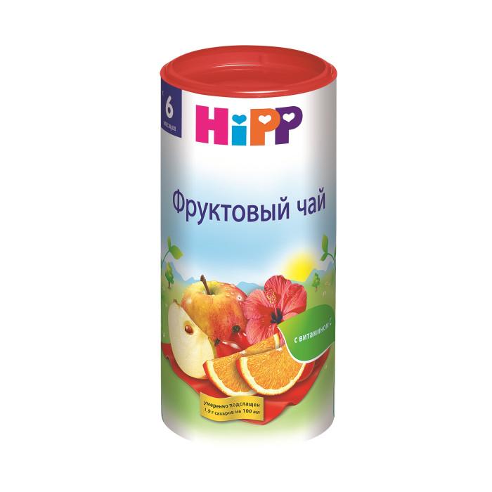Чай Hipp Детский фруктовый чай с 6 мес. 200 г сибирская клетчатка я диета фитококтейль с клубникой 170 г