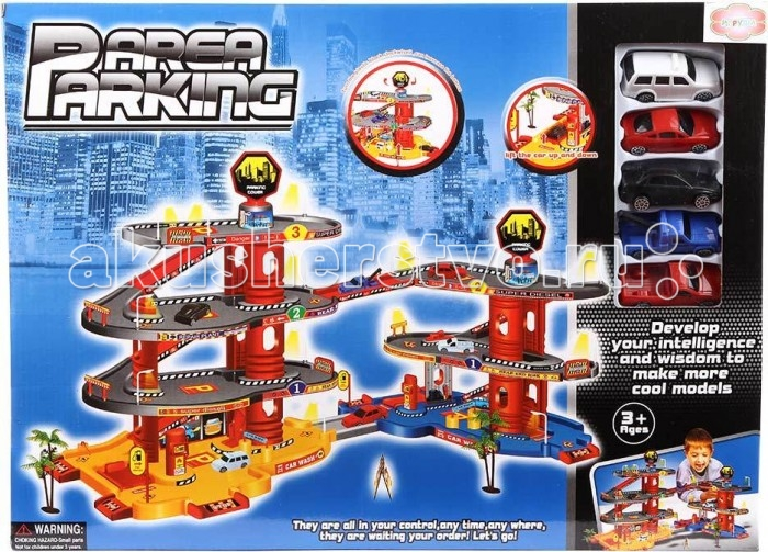 Машины Игруша Парковка I-1028531-1 игровые наборы игруша касса